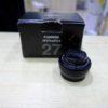 Rivenditore Fujinon Negozio Fujifilm Italia Obiettivi usati Roma Fujifilm XF 27mm f/2.8 R